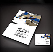 抽象艺术画册封面设计