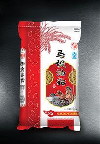 马坝油粘米袋素材