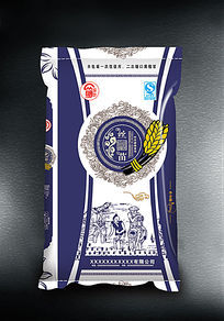 丝苗香米包装袋素材