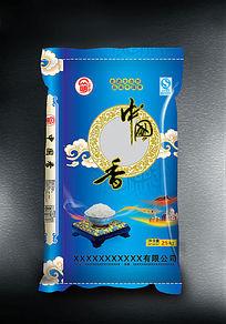 中国香米包装设计模板