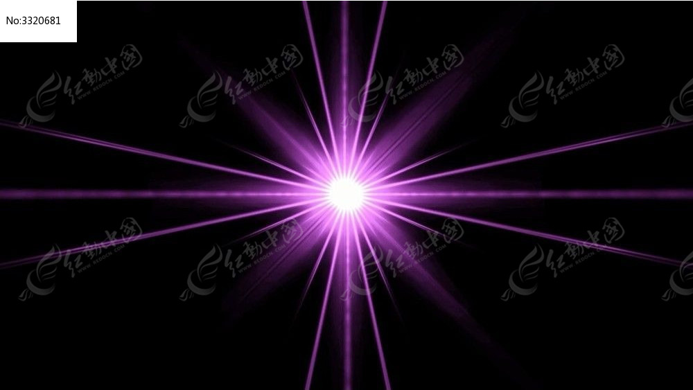视频_紫色线条汇聚的光效动态视频