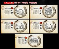 中国白酒文化展板设计