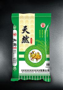 天然香米包装设计