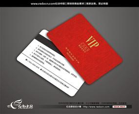 经典红色VIP卡背景
