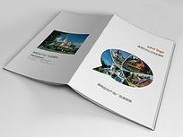 建筑装饰画册封面设计