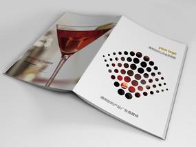 酒销售宣传册封面设计
