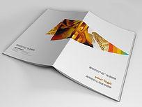 银行金融投资画册封面设计
