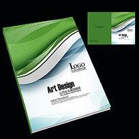 科技网络电子企业员工手册封面