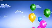 气球视频素材