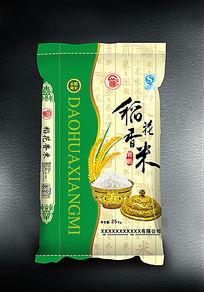 稻花香米大米包装袋素材