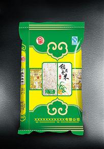 稻花香米新包装设计