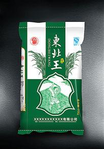 东北王大米包装设计 AI