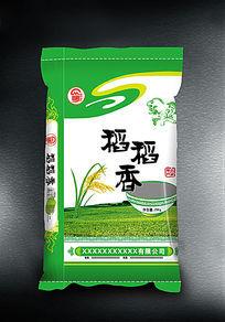 绿色包装袋稻稻香大米