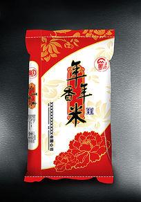 年年香米真空包装袋素材