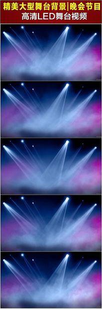 舞台灯光聚光灯光效光线视频