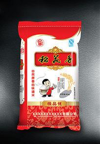 稻花香米的包装