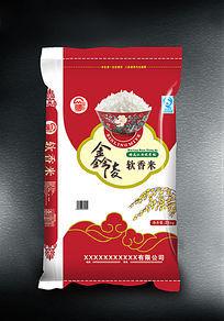 金陵软香米米袋子设计