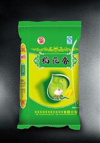 绿色包装袋稻花香米