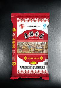 苏豫香米包装袋子设计
