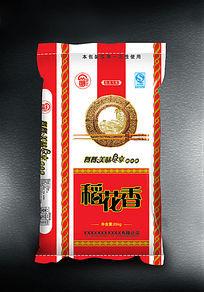 红色包装袋稻花香米