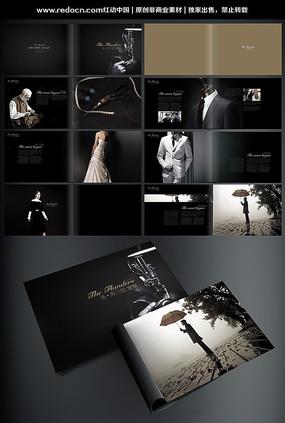 高档服装画册设计 PSD