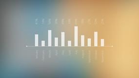 商务信息图表动画展示ae模板