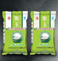 五常生态稻花香米包装设计