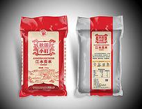 红色包装秋田小町包装袋