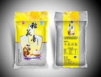 黄色米袋包装稻花香