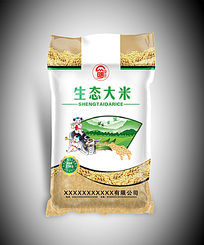生态大米袋子包装