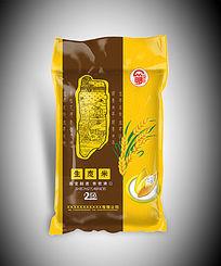 生态米包装袋模板