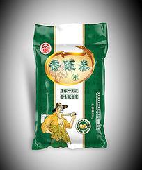 香旺米大米包装袋图