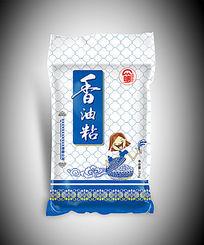 香油粘大米包装袋图