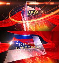 大气震撼企业年会颁奖典礼晚会片头视频AE模板 aep