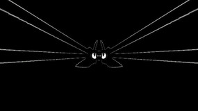 几何形状线条变幻放射视频素材