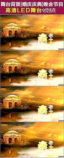 欧式宫殿天鹅湖婚庆视频