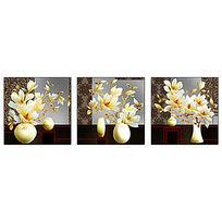 玉兰花花瓶装饰画