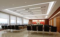 12款 现代会议室3d模型下载