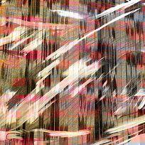 不规则格子透叠肌理印花图案 TIF