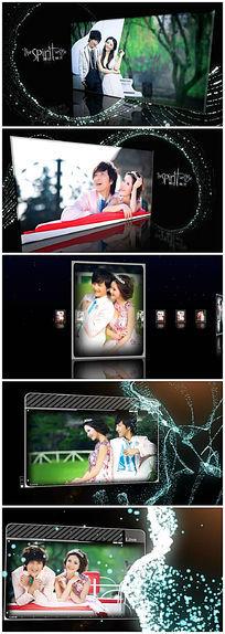 婚纱3d电子相册模板下载
