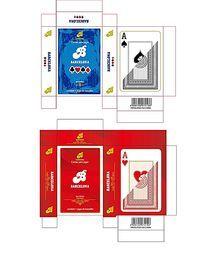 扑克彩盒设计 AI