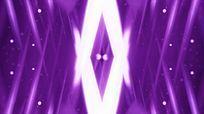 紫色流光交叉线条粒子浮动视频素材