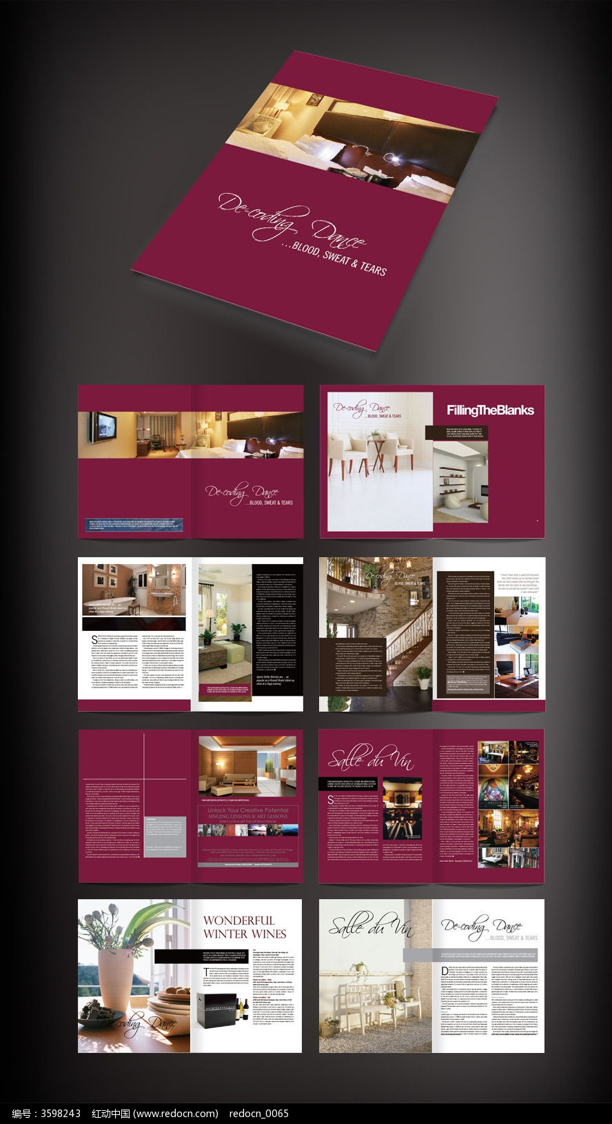 原创设计稿 画册设计/书籍/菜谱 企业画册 宣传画册 家居画册版式设计图片