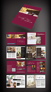 家居画册版式设计