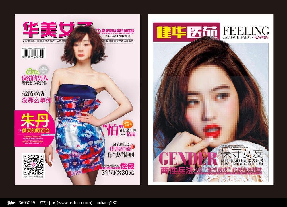 妇科杂志封面版式图片