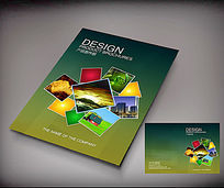 产品宣传册封面版式设计