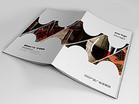 酒店宣传画册封面版式设计indd