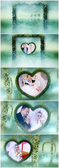 9款 浪漫婚礼视频模板aep素材下载