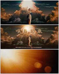 自由女神LOGO视频模板