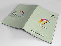办公用品画册封面PSD